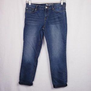 GAP size 8 Boyfriend Coupe Jeans